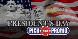 Presidents Day Pick Your Promo