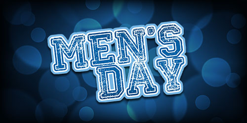 Event flyer for Wednesdays: Mens Day